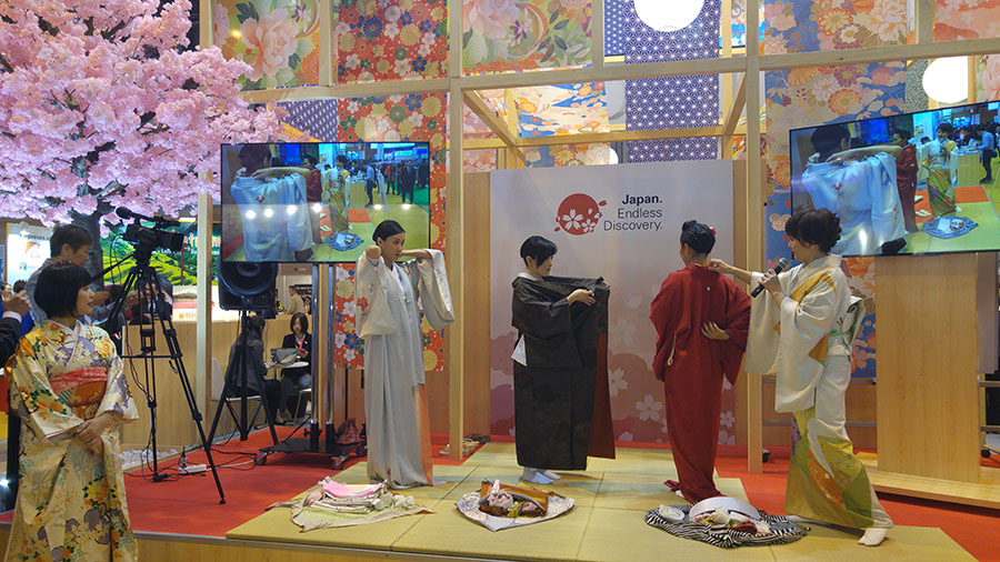 Japón, Cómo ponerse un Kimono