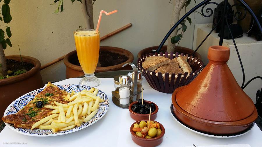 Comida marroquí, Fez, Marruecos