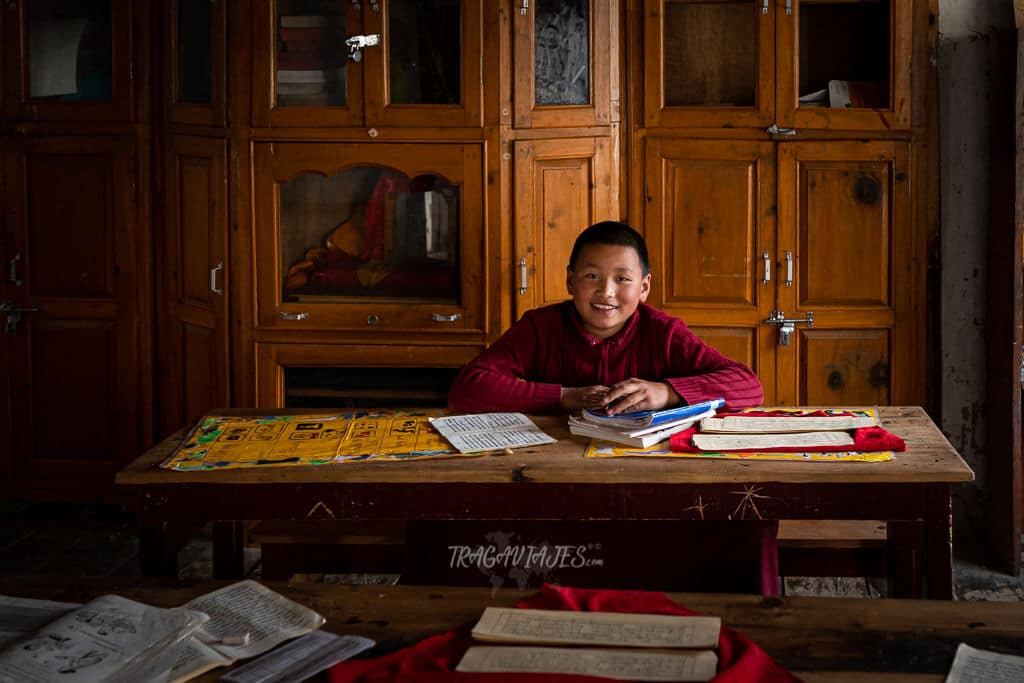 Bajo Mustang Nepal - Monasterio de Marpha