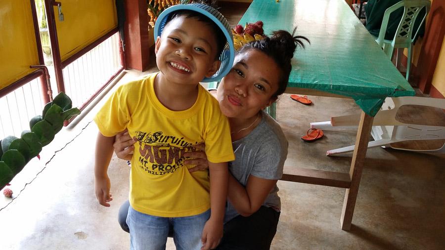 Reencuentro familiar en Filipinas