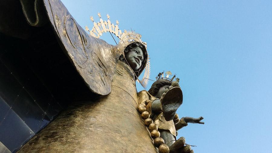 Virgen Maria gigante en tanay Rizal, Filipinas