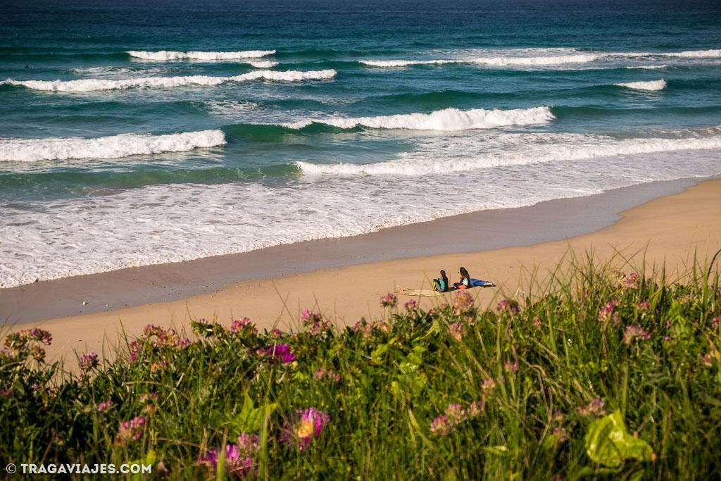 Campamento de surf en Galicia