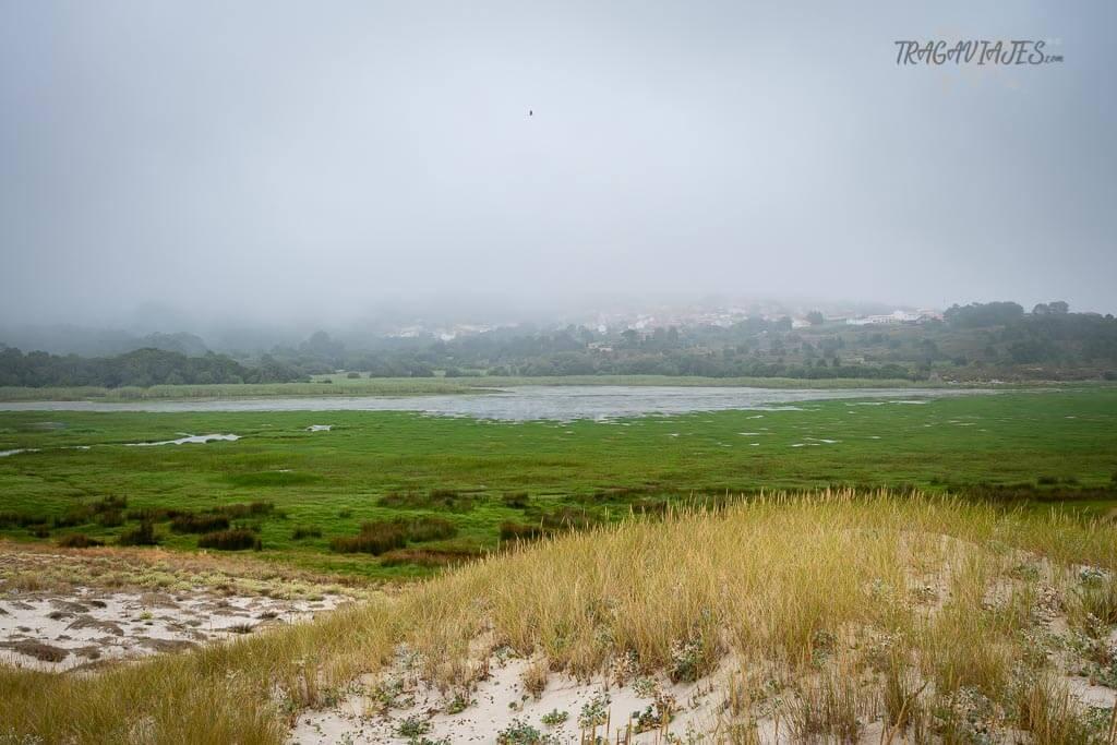 Qué ver en la Costa da Morte - laguna das Xalfas