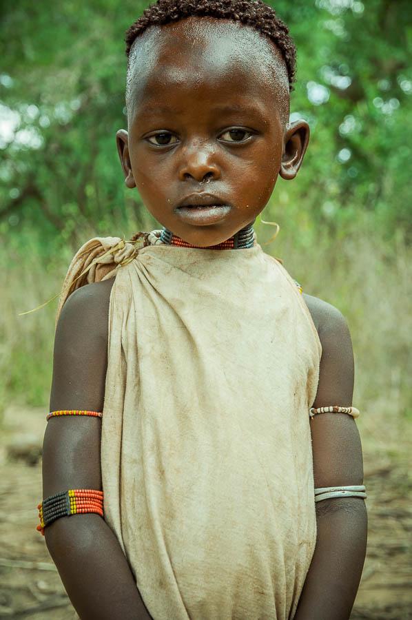 Niño tribu Hamner, Etiopía