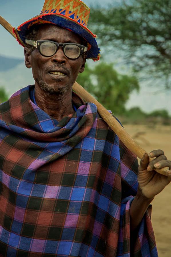 hombre , tribu Arbore, Etiopía
