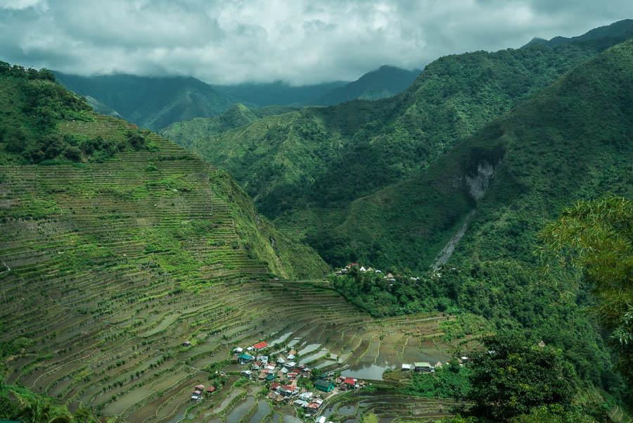 Arrozales de Batad, en Banaue, Filipinas
