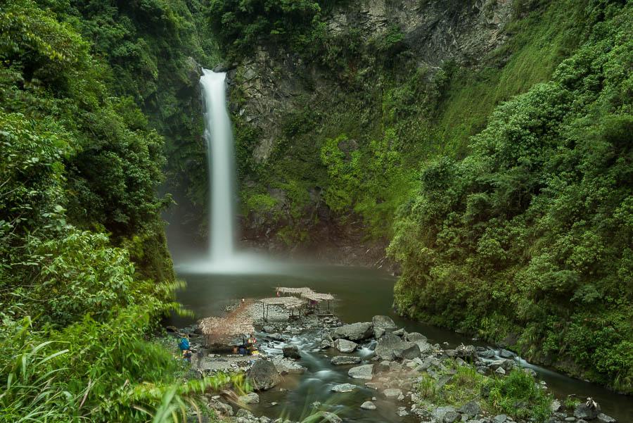 cascada en batad, Banaue, Filipinas