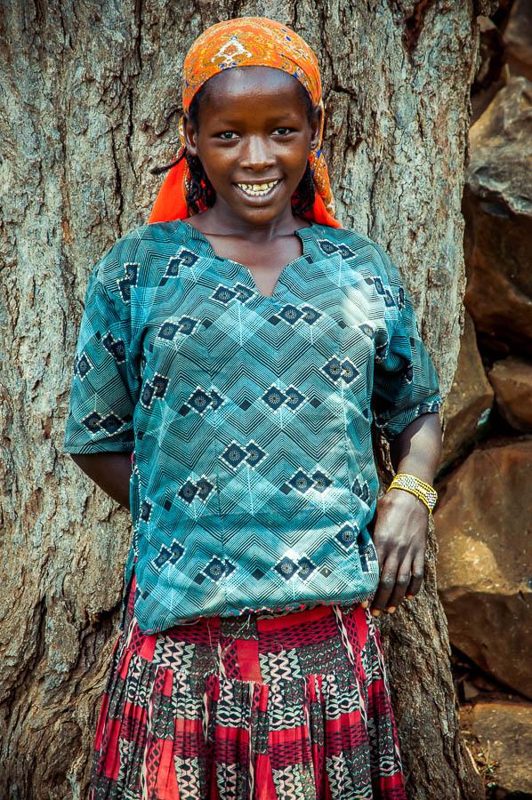 Niña Konso, Etiopía