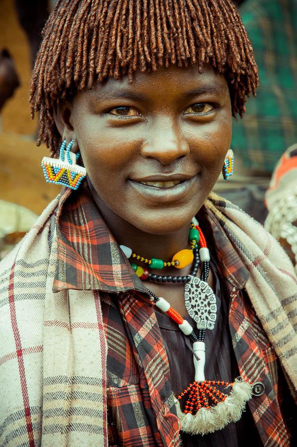 Mujer tribu Hamner, Etiopía