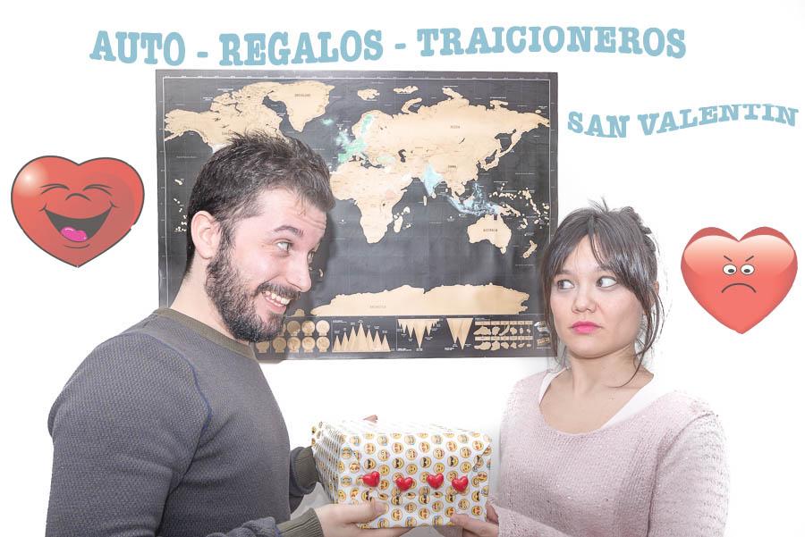 Auto-Regalos Traicioneros San Valentín