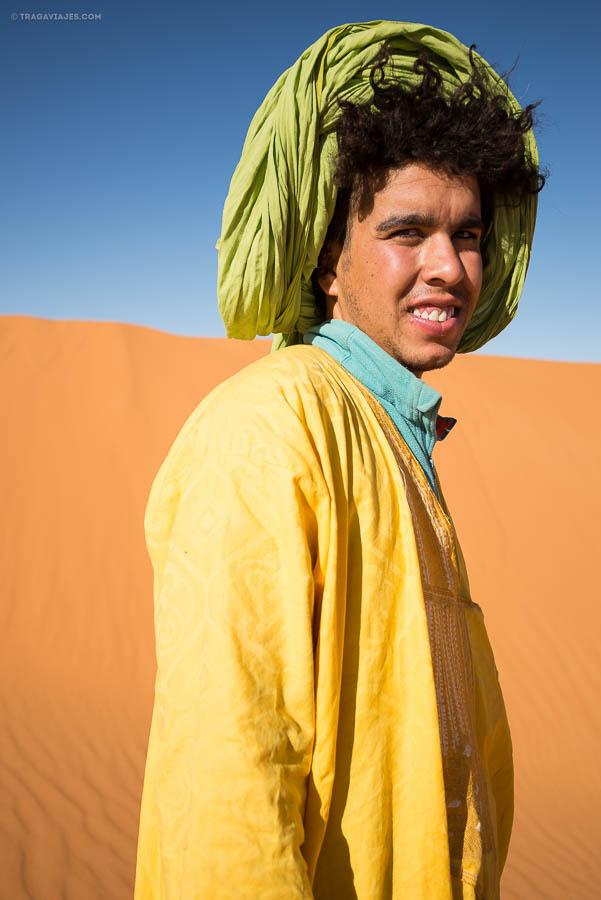 Mohamed, Bereber, desierto Merzouga