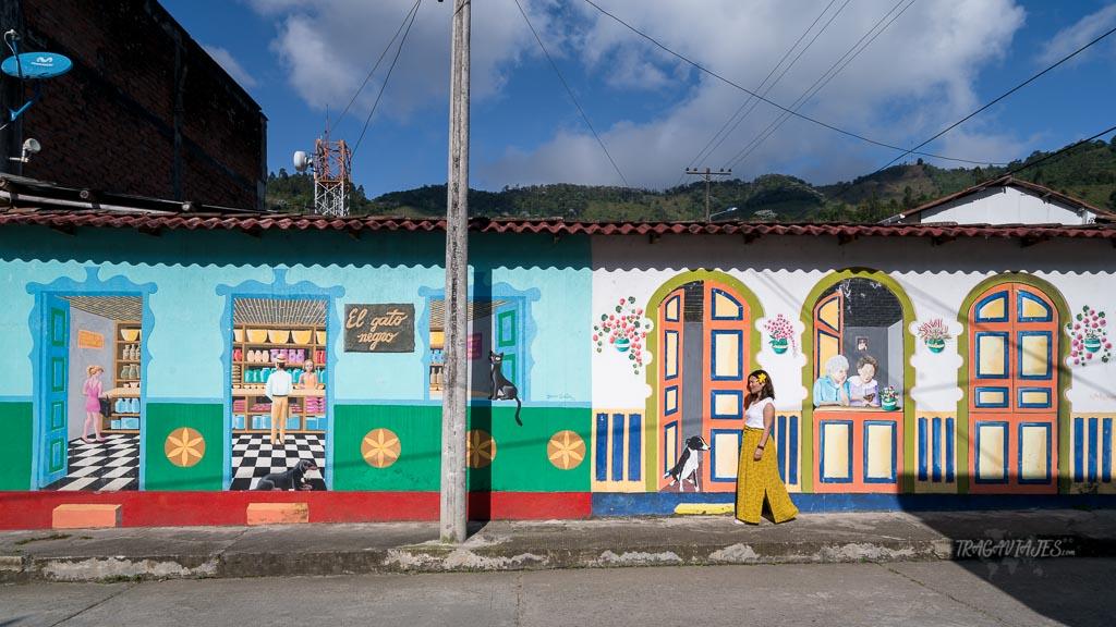 Eje Cafetero Colombia - Pueblo colorido