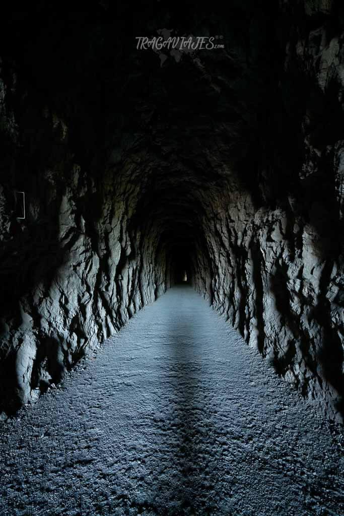 Primer túnel de la Foz de Lumbier