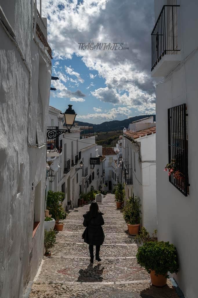 Qué ver en Frigiliana - Calle Zacatín