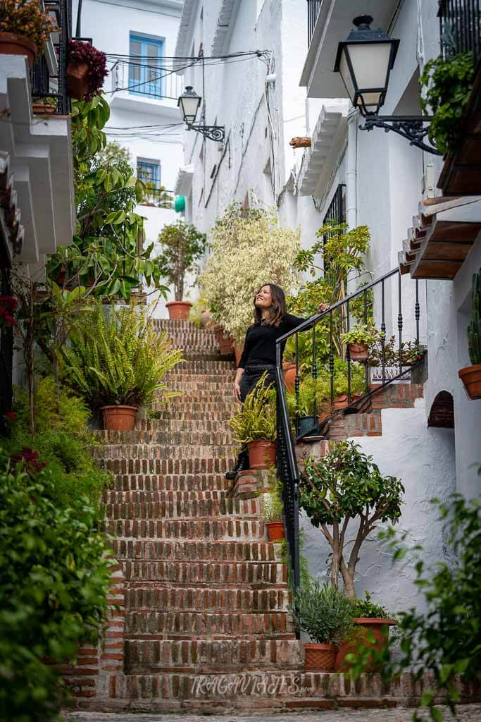 Ruta a pie por Frigiliana - Calle el Garral