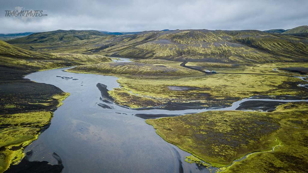 Highlands Islandia ruta 8 días - De camino a Langisjór