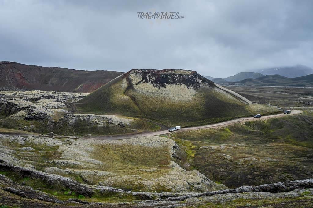 Highlands Islandia ruta 8 días - De camino a Landmannalaugar