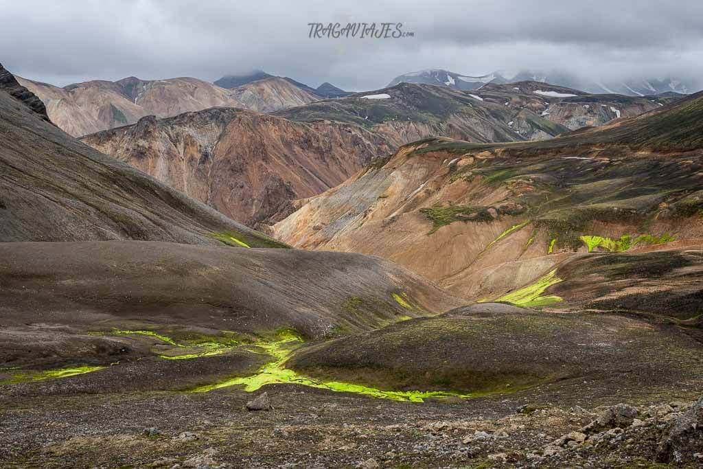 Highlands Islandia ruta 8 días - Ruta en Landmannalaugar