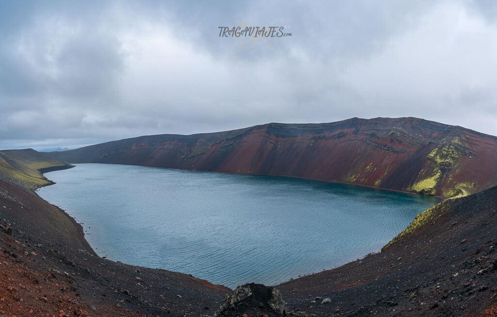 Highlands Islandia ruta 8 días - Cráter de Ljótipollur