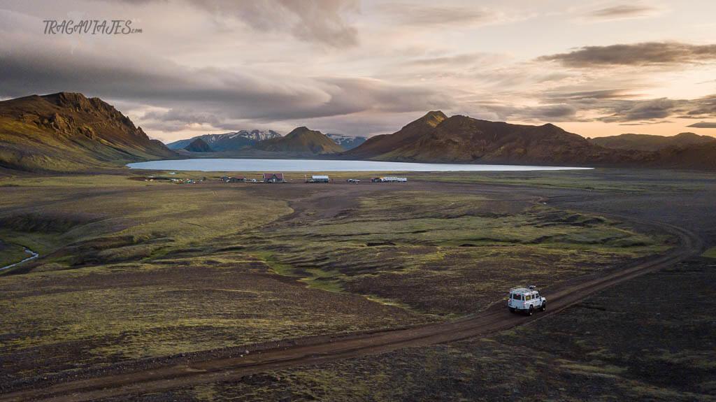 Highlands de Islandia - Lago de Álftavatn
