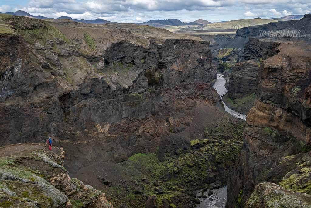 Highlands de Islandia - Cañón de Markarfljótsgljúfur
