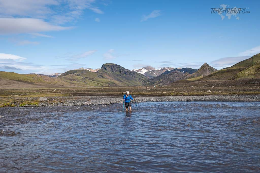 Highlands de Islandia - Vadeo de ríos