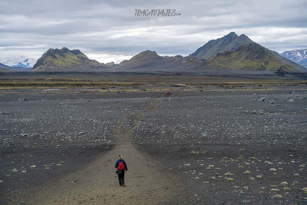 Highlands de Islandia - desierto negro de Maelifellsandur