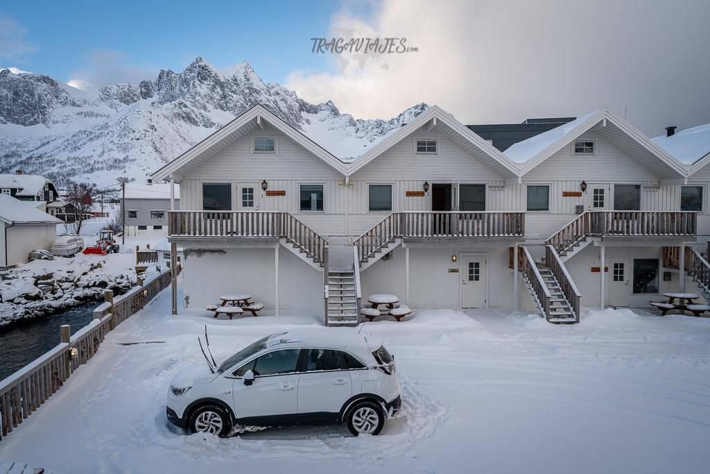 Cabañas en Senja - Hotel Mefjord Brygge