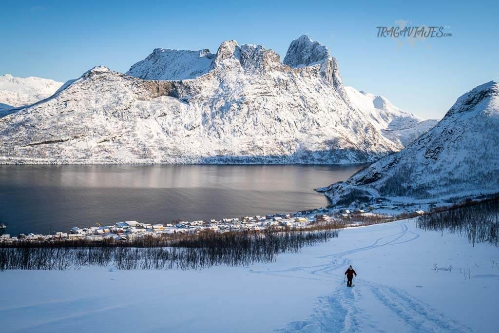 Raquetas de nieve en Senja - Trekking a Hesten