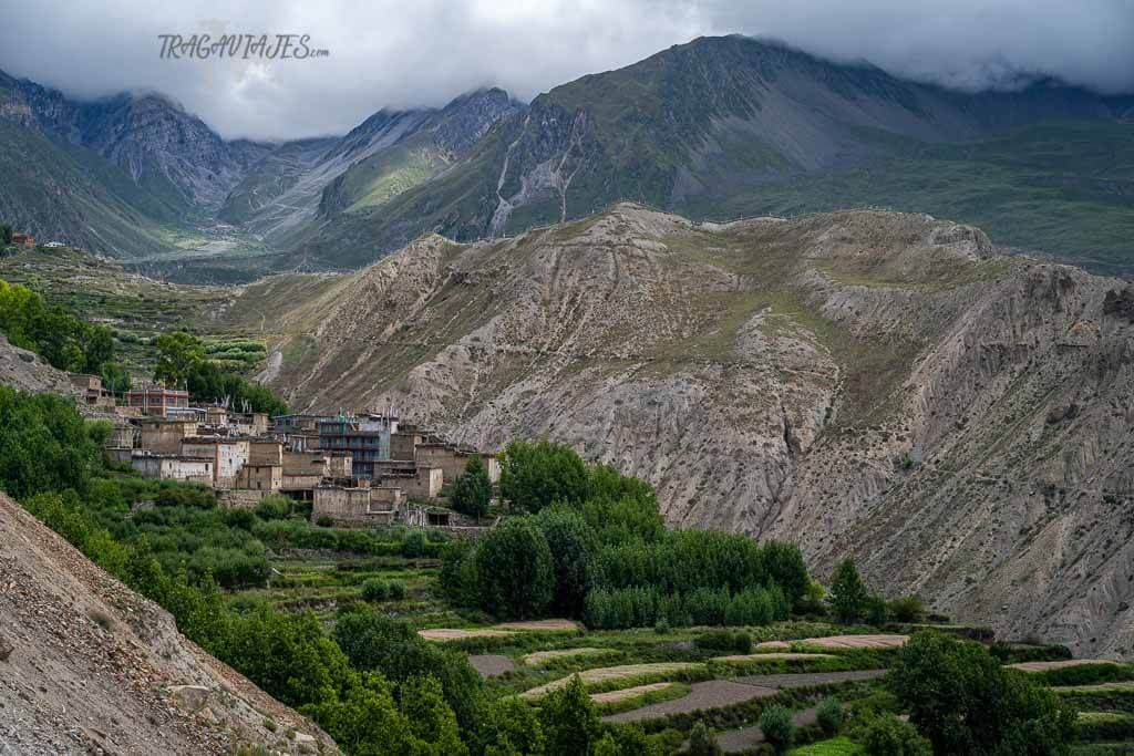 Lower Mustang - Pueblos entre Kagbeni y Muktinath