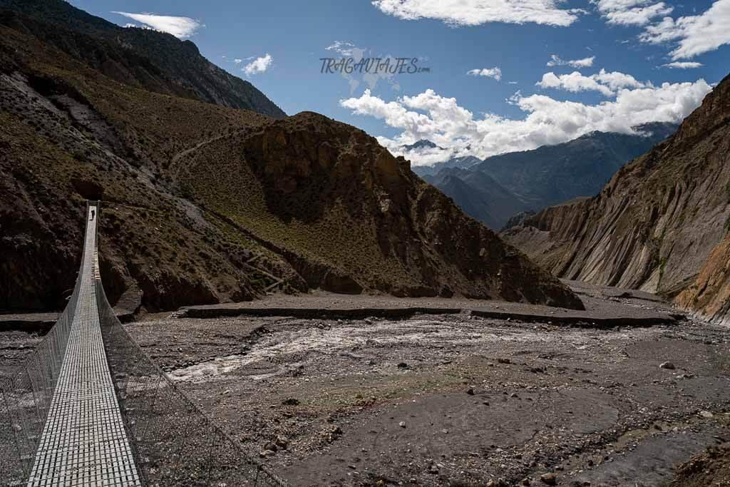 Lower Mustang Nepal - Llegando a Lubra