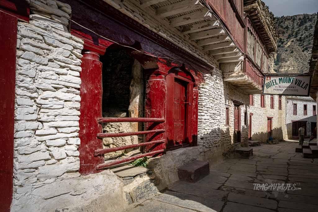Lower Mustang Nepal - Calles de Marpha