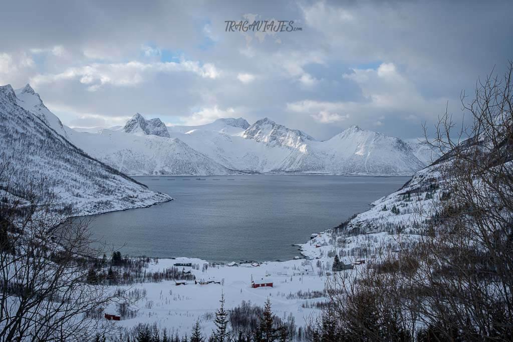 Que Ver en la isla de Senja - Pueblo de Mefjordbotn