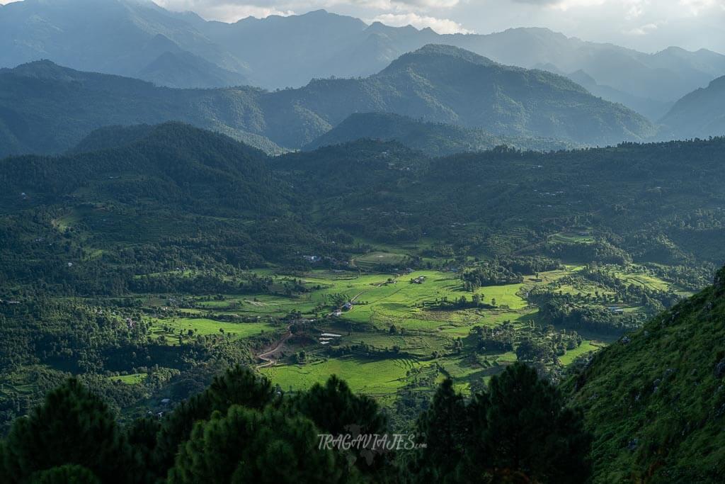 Qué hacer en Bandipur - Vistas desde la colina Gurungche