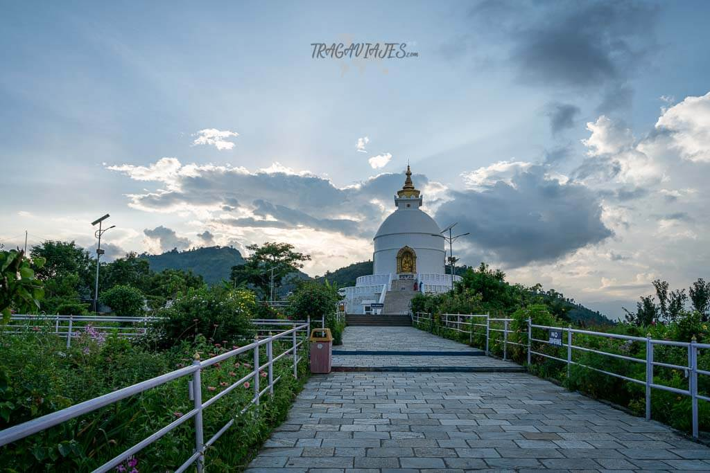 Qué hacer en Pokhara - Pagoda de la Paz Mundial