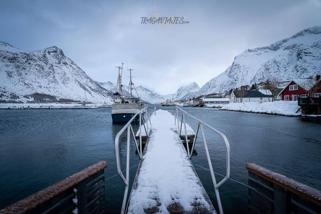 Pueblos más interesantes de Senja - Pueblo de Gryllefjorden