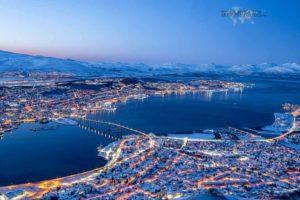 Viaje a Tromso -Vista de la ciudad