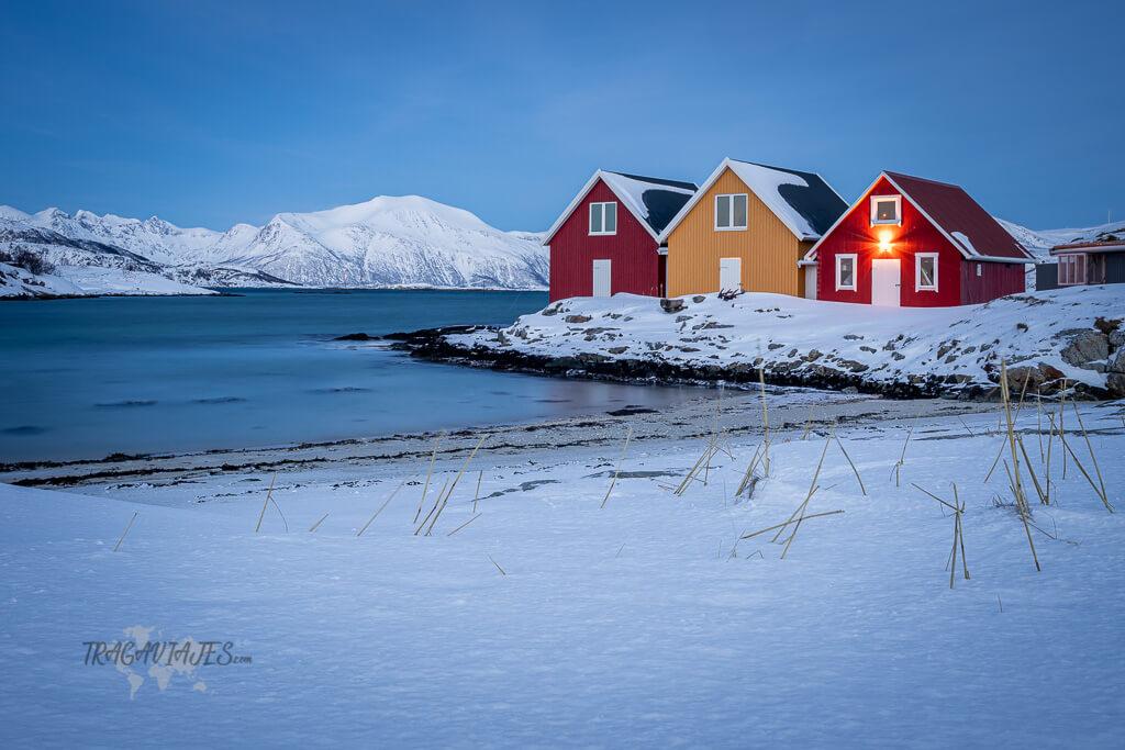 Excursiones cerca de Tromso - Hillesøya en la isla de Sommarøya