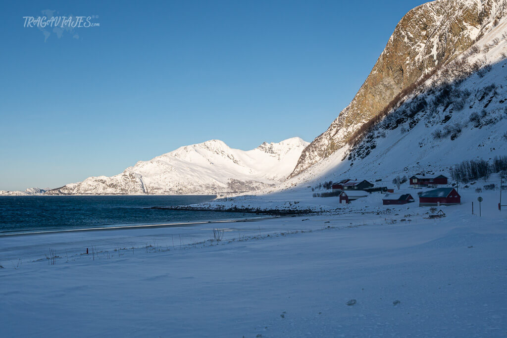 Alrededores de Tromso - Playa de Grøtfjorden