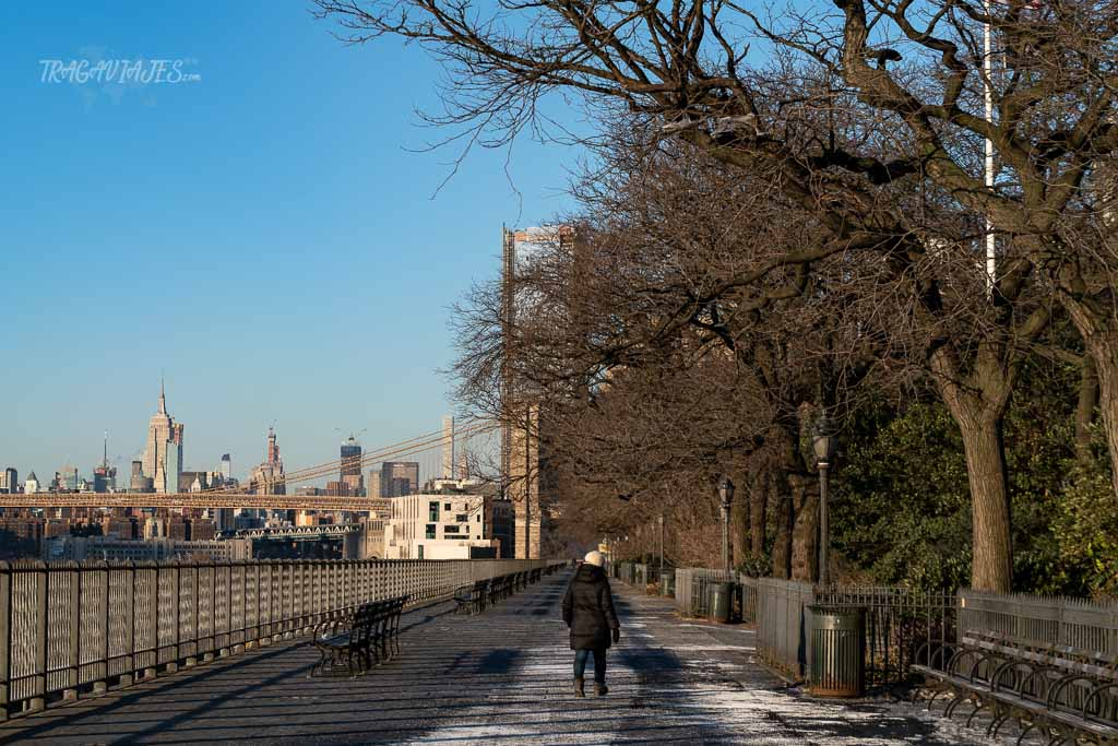 Qué hacer en Nueva York - Pasear por Brooklyn Heights Promenade