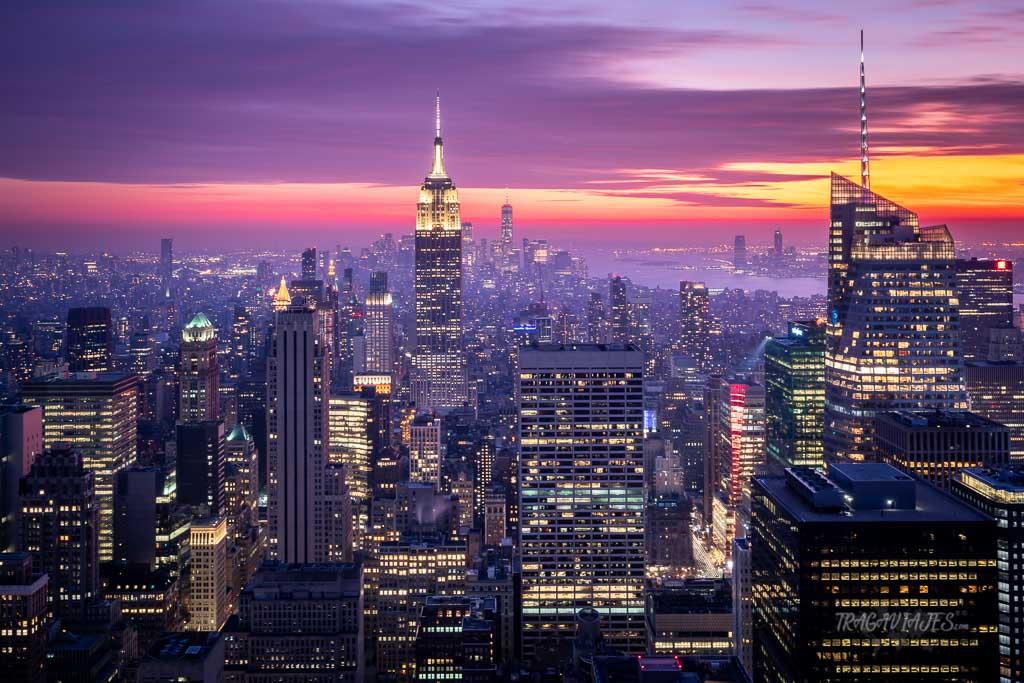 Qué hacer en Nueva York - Vistas desde el Top of the Rock