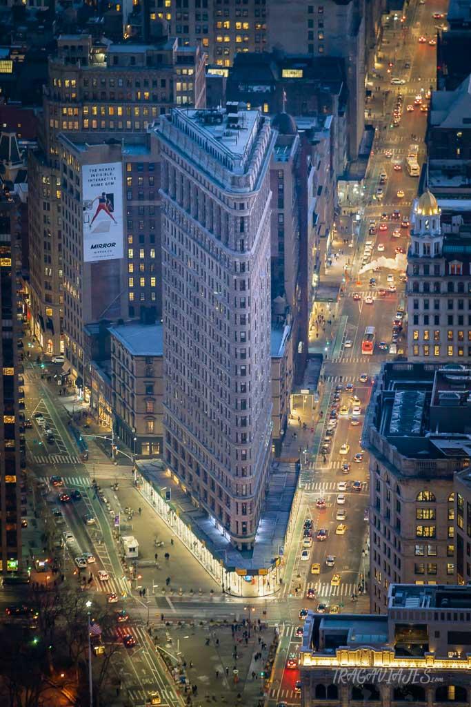 El edificio más bonito de Nueva York, el Flatiron building