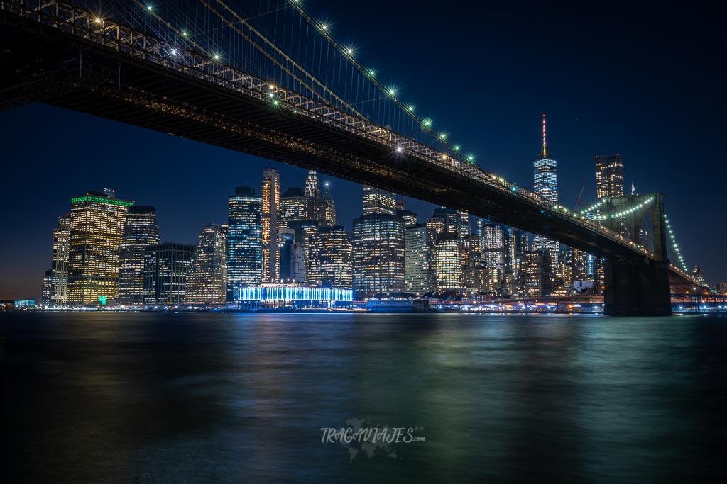 Qué hacer en Nueva York en una semana - Vista clásica desde Empire Fulton Ferry Park
