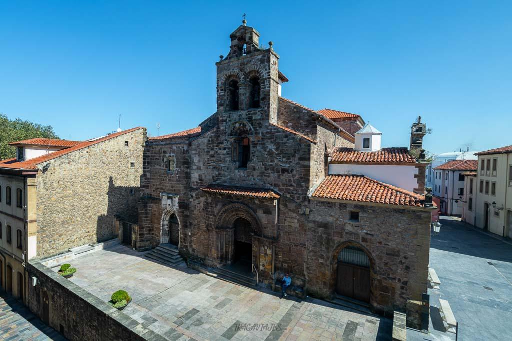 Qué ver en Avilés en 1 día - Iglesia de San Antonio de Padua