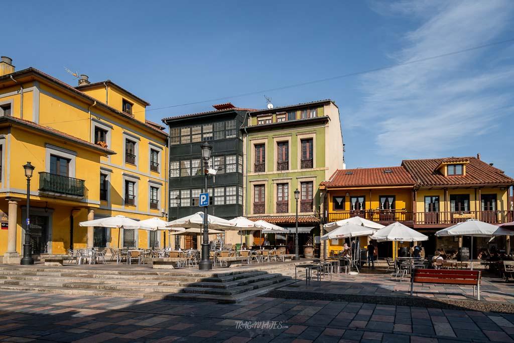 Qué ver en Avilés en 2 días -Plaza del Carbayo