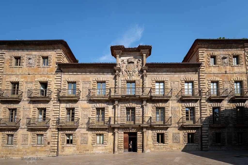 Qué ver en Avilés en 2 días - Palacio Camposagrado