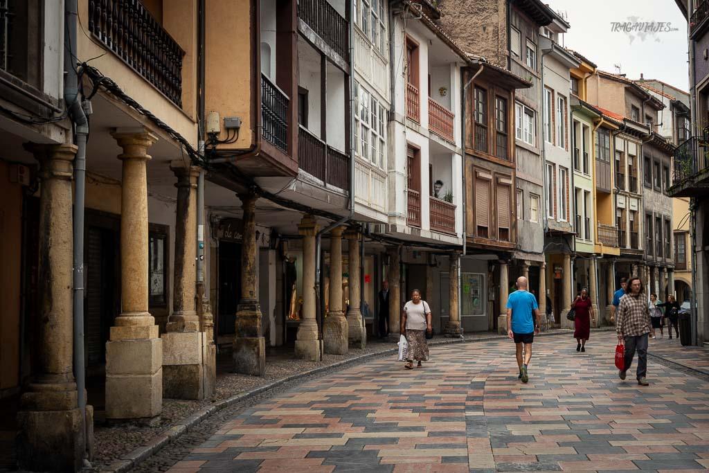 Qué ver en Avilés y alrededores - Calle Rivero