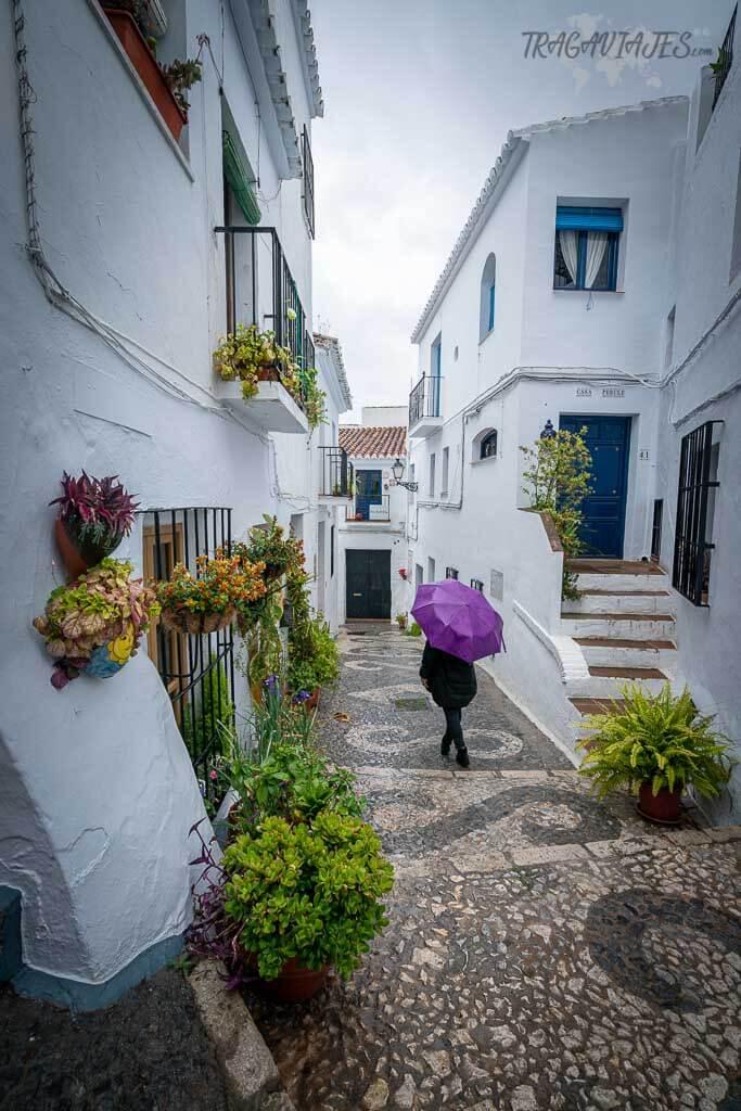 Frigiliana, Málaga - Calles de Frigiliana