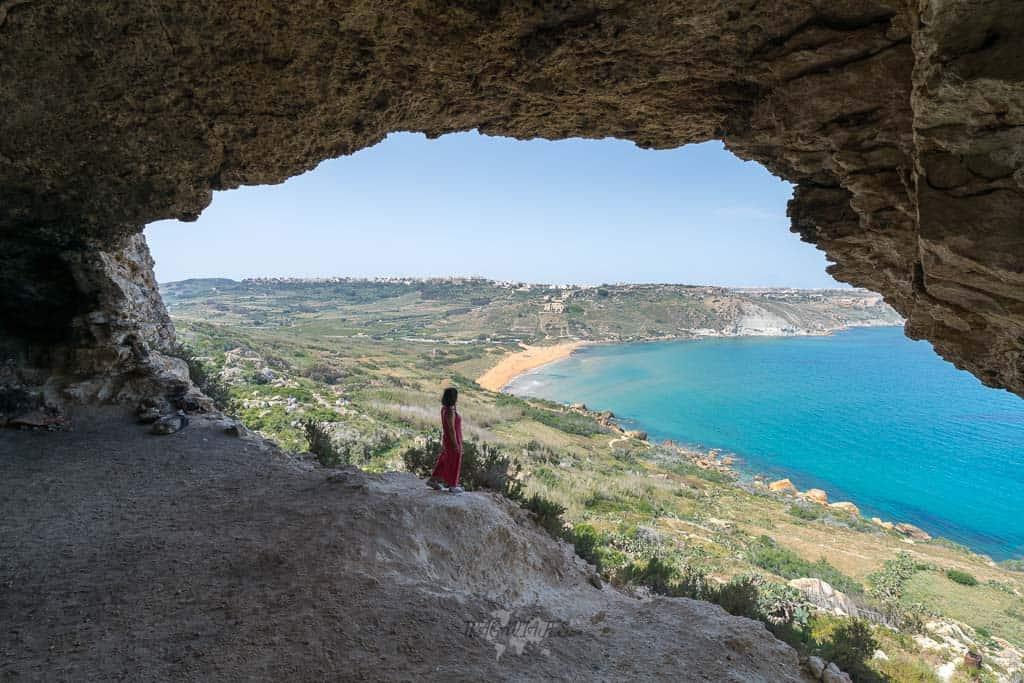 Qué ver en Gozo en un día - Cueva Tal Mixta