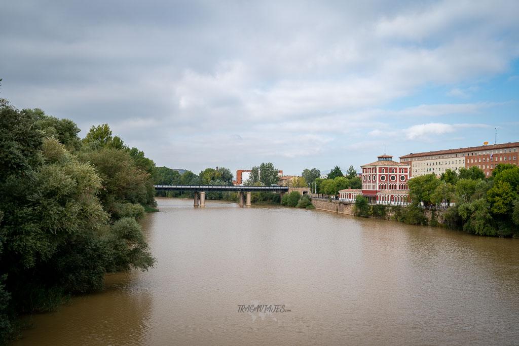 Logroño en un día - Puente de Hierro